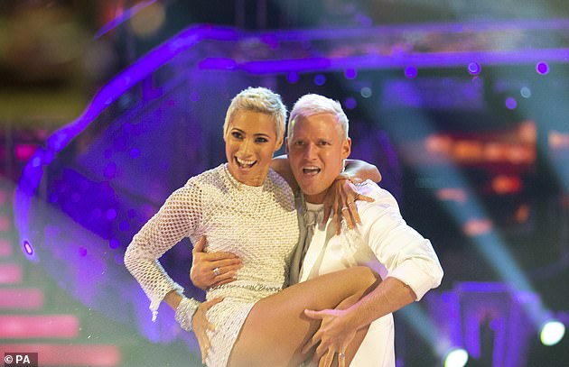 Start: The appearance comes after Jamie and his Strictly pro partner Karen Hauer took to the dance floor on Saturday as the 2020 series began their live shows