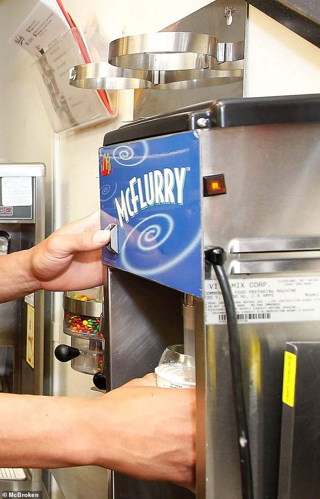 Since October 22, more than 1.5 million users have visited McBroken.com, which currently reports less than 10 percent of ice-cream machines are down nationwide