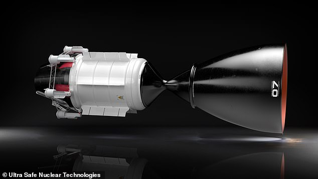 Ultra Safe Nuclear Technologies, a Seattle-based tech company, is developing a nuclear-powered engine that claims to be safer and more reliable than previous nuclear propulsion (NTP), with twice the rocket efficiency as a chemical compulsion