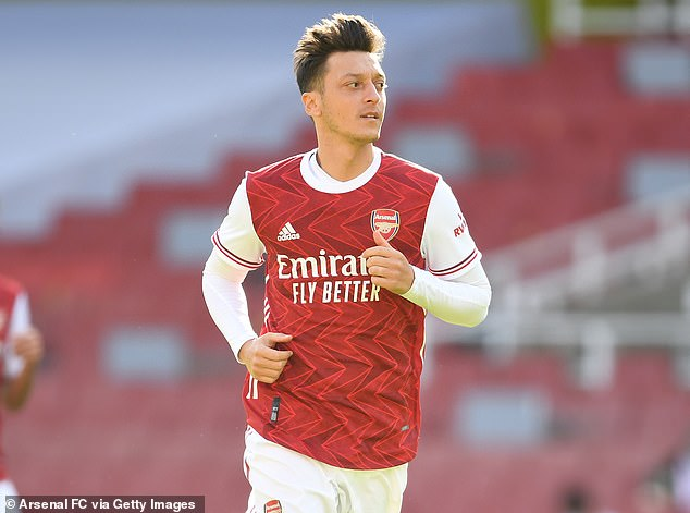 Lauren said Ozil would be on the team if he did anything to get selected