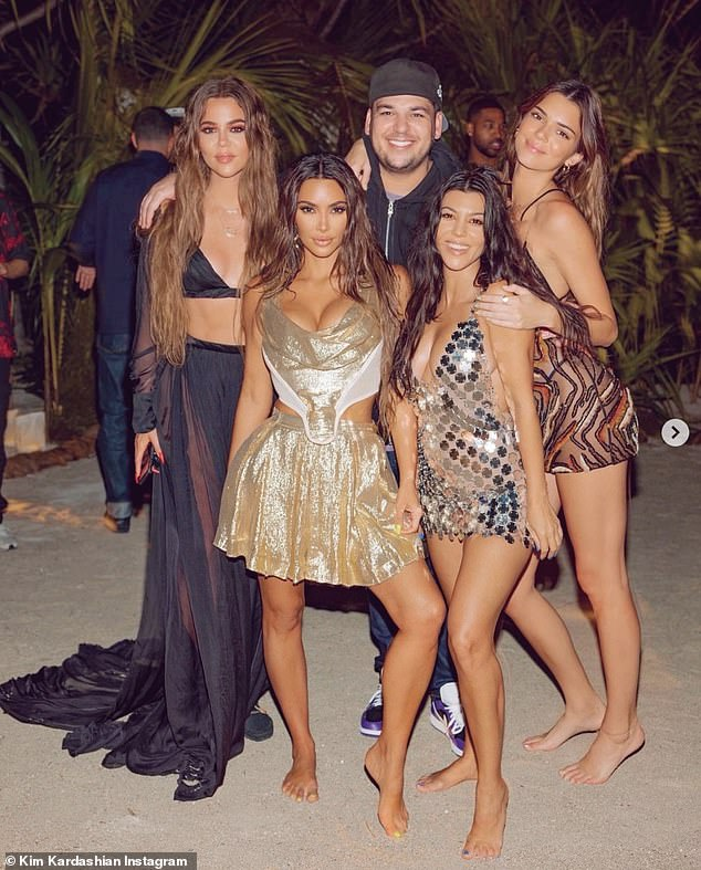 Happy Birthday Kim!  Kim Kardashian gave fans a glimpse of her private island's birthday celebrations on Tuesday