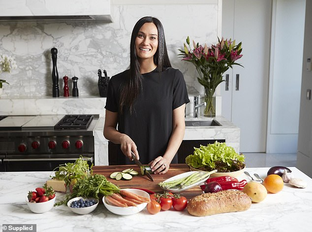 Nutritionist Laura Ford (pictured) said those who are aiming to lose weight over a short period of time should maintain a balanced diet and consume healthy foods from each core food group