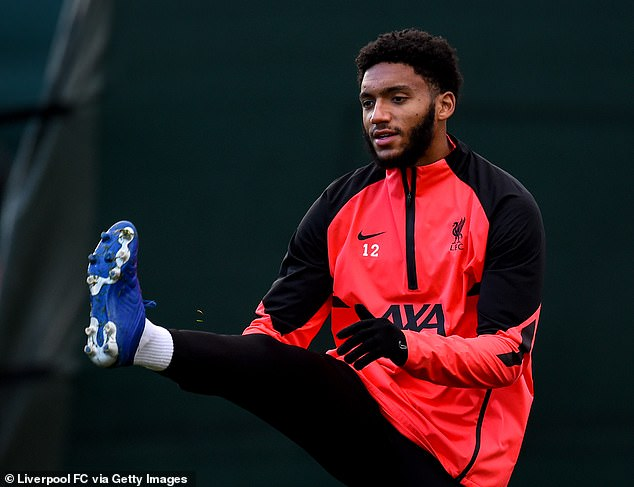 Joe Gomez is currently the only fully-shaped Liverpool senior center in the first team