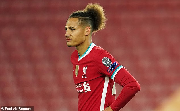 Rhys Williams, 19, came for Fabinho on Tuesday and kept a clean sheet alongside Gomez