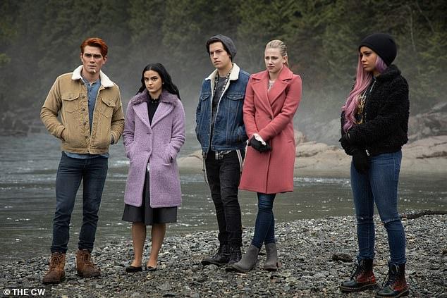 Drama: KJ stars alongside Lili Reinhhart, Camila Mendes, Cole Sprouse, Madeline Petsch, Vanessa Morgan and Charles Melton on the popular CW program Riverdale