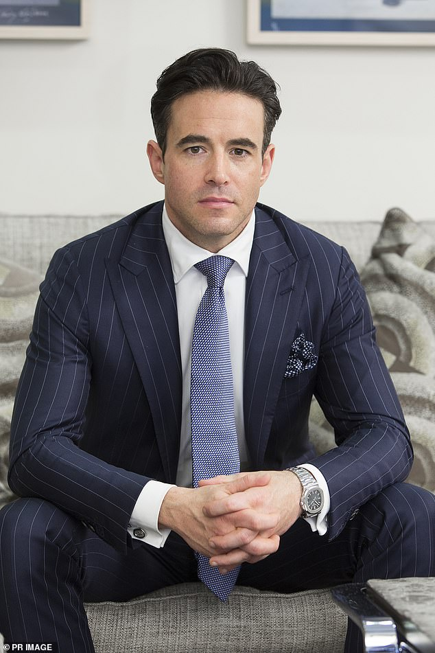 Clark Kirby, CEO of the Village Roadshow (pictured), which runs Sea World, Movie World and Wet 'n Wild, said he could not let Ms. Palaszczuk into his theme park as he knew the border closure could possibly continue