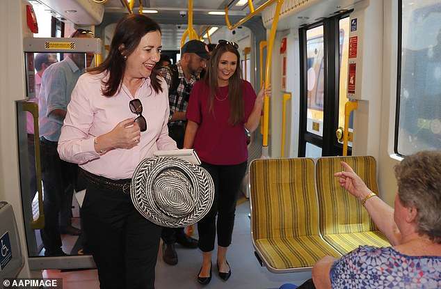 Ms. Palaszczuk was on the Gold Coast campaign on the Thursday before Saturday's elections