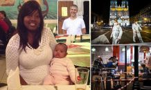 'Tell my children I love them': Last words of 44-year-old Brazil-born Nice terror attack victim who staggered to café next to church that was attacked by Islamist knifeman before dying from her wounds