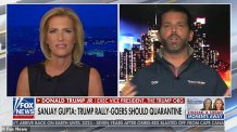 Donald Trump Jr. Says Something Very Stupid when he Tells Laura Ingraham Coronavirus Deaths 'are Almost Nothing' and 'We've Gotten Control of the Thing' on the Day Nearly 1,000 Americans Died from the Plague