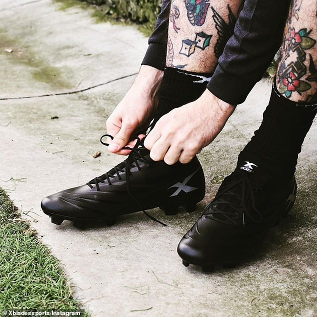 Claim to fame: The company was founded in 1989 by Bill Spyros and at the height of its success, its spiked boots were worn by legendary sports stars like David Beckham