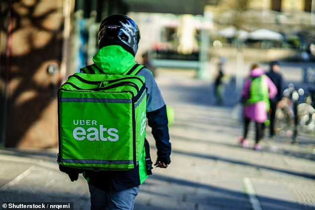 It comes after Sainsbury's partnered with UberEats and Deliveroo to offer customers a rapid delivery service to the doorstep in an average time of less than 25 minutes