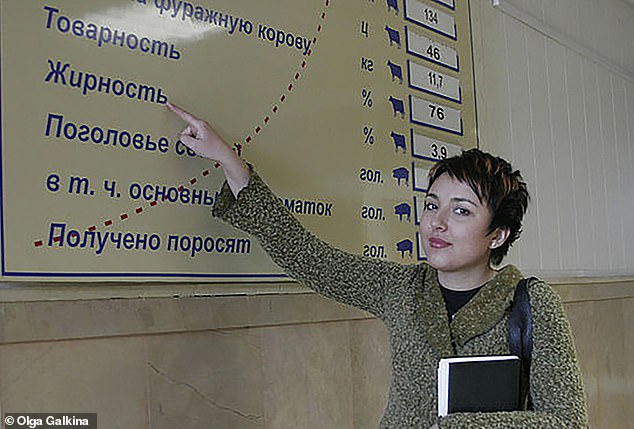 She worked as a journalist for state-funded RIA Novosti, working at the Russian parliament between 2003-05. More than a decade ago she also worked for Rosbalt, a news outlet run by Natalya Cherkesova (Chaplina), wife of ex-security services high-ranking member Viktor Cherkesov, a Putin associate