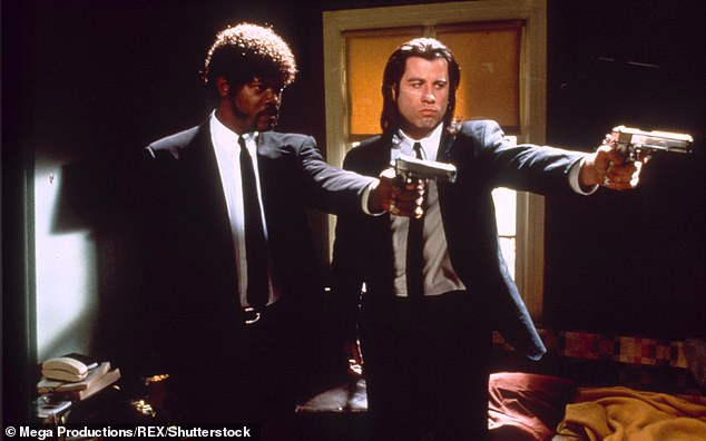 Pulp Fiction, starring John Travolta and Samuel L. Jackson was also named in the thread