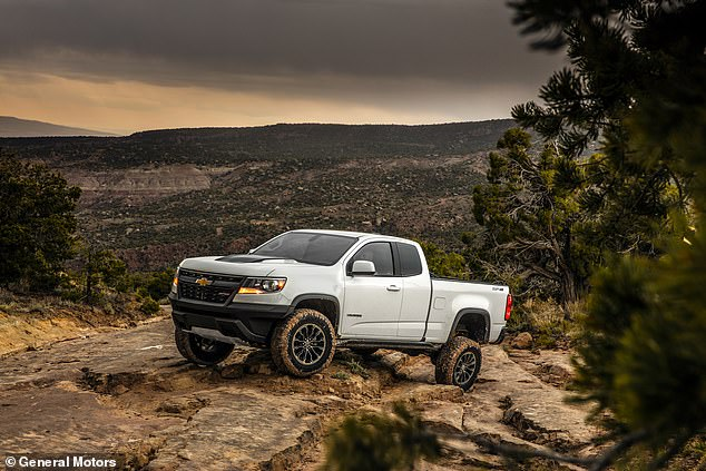 The ISV uses 90 percent commercial parts, including the Colorado's 186-horsepower, 2.8L Duramax turbo-diesel engine and six-speed automatic transmission