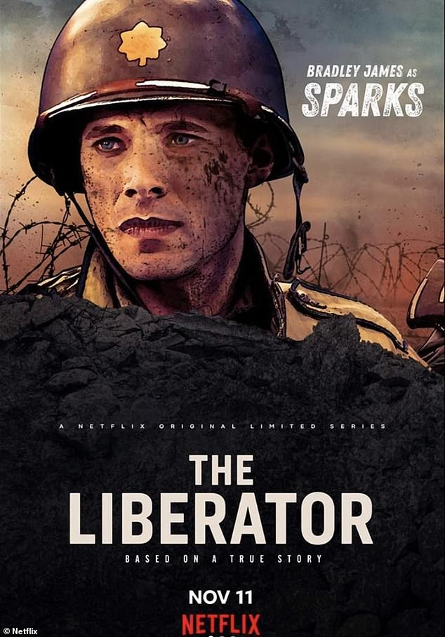 Netflix: In 2018, Bradley landed the lead role of American war hero Felix Sparks in Netflix's World War II four-part drama series The Liberator, due to be released on November 11