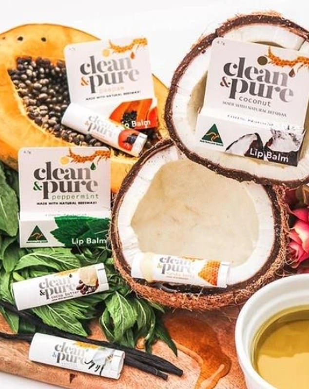 Good enough to eat:Available in a range of 8 yummy flavors (Coconut, Vanilla and Manuka Honey to name a few), these Australian-made lip balms are crafted using only the finest-quality natural ingredients