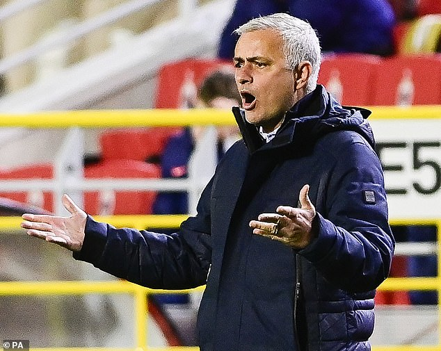 Mourinho has defended the Welshman and revealed he is 'improving' on the training ground