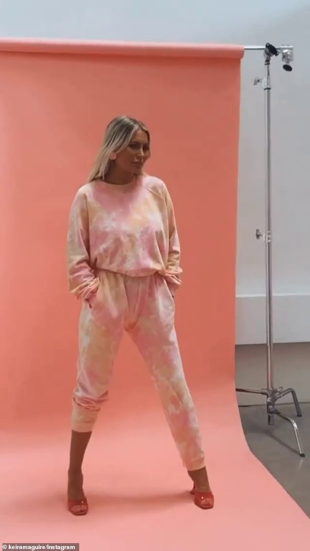 Australia's Kim Kardashian? FormerBachelor villain Keira Maguire is cashing in on her popularity with her own clothing line