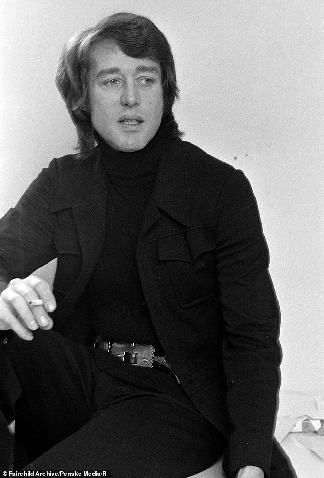 Visionary: The limited series which will focus on the rise and fall of Halston, who rose to fame in the 1970s as a celebrity fashion designer (pictured in 1970)