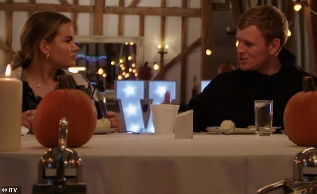 Cold feet:On TOWIE, Georgia previously discussed her hesitation to get married and admitted she would be annoyed if Tommy made a huge romantic gesture by proposing on the show