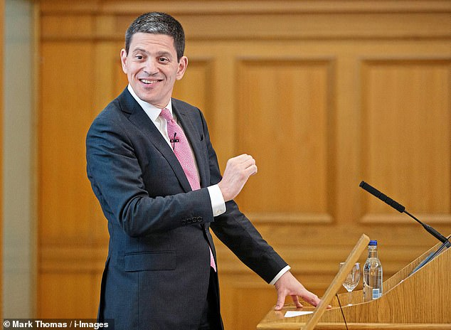 David Miliband (pictured) pocketedmore than $1 million (£772,000) last year by aid charity International Rescue Committeethat is heavily funded by British taxpayers