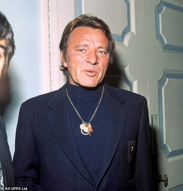 Richard Burton (pictured) warned Gabriel Byrne fame is a 'sweet poison you drink of first in eager gulps. Then you come to loathe it'