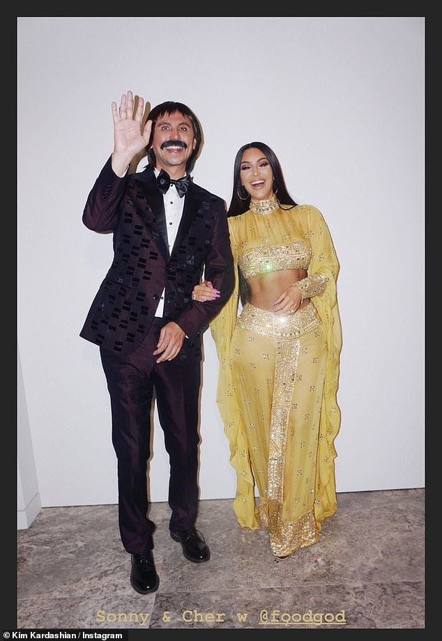 Sonny and Cher: The impromptu video tour came after the KUWTK star shared some of her previous Halloween looks to her Instagram Story