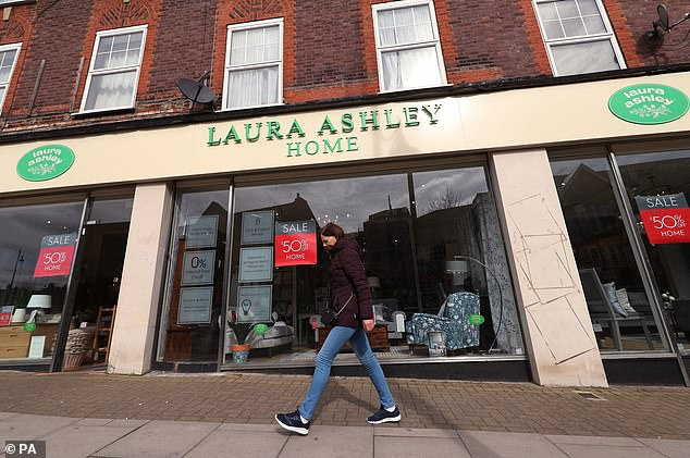 When Laura Ashley went into administration this year it looked like a sorry end for one of Britain's best known retail brands (stock image used)