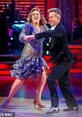 Awarding her just two points out of ten, the acid-tongued judge lambasted the former Home Secretary and said to her professional dance partner Anton Du Beke that it was a ¿really good idea¿ to put her on a swing during the routine rather than to have her dancing