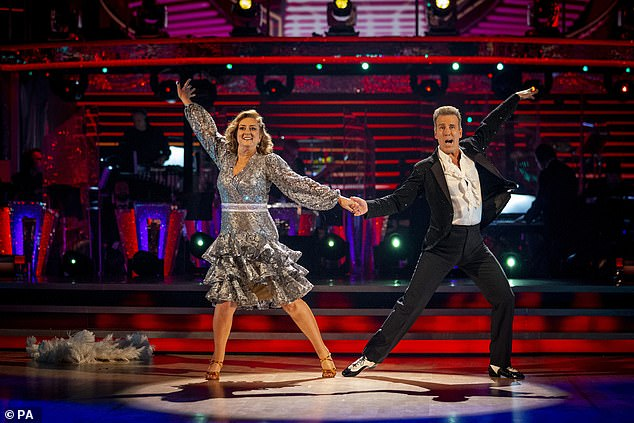 Keep going!Over at the bottom of the leaderboard, former politician Jacqui Smith and partner Anton Du Beke are at the bottom with just 12 points scored this week and 13 points last week