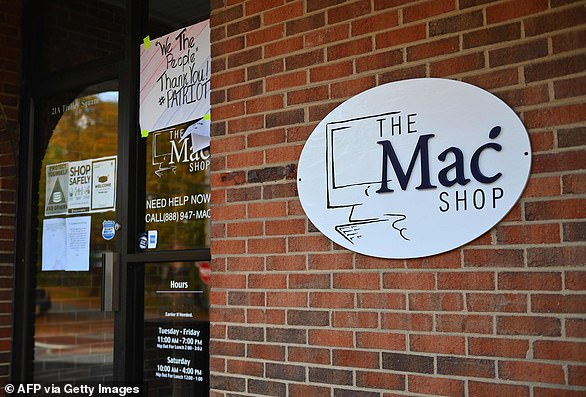Hunter Biden dropped off his MacBook at the computer store the Mac Shop, which is based in a Delawre shopping mall