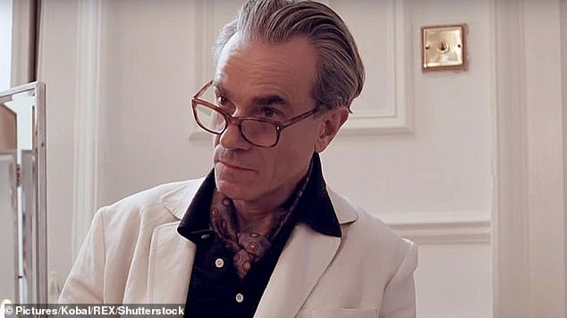 Daniel Day Lewis, pictured, is renowned for staying in character for the duration of a movie