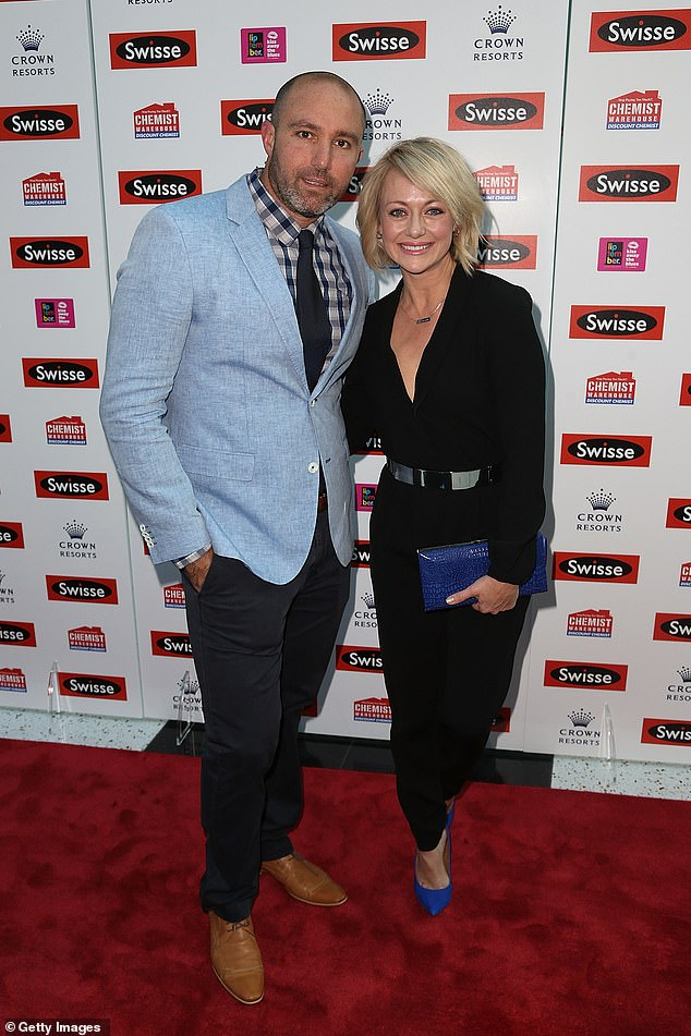 Watch this space! The Block Shelley Craft, 44, has reportedly splashed out on a drab $800K beachside cottage for her newest renovation project. Pictured:Shelley Craft and husband Christian Sergiacomi