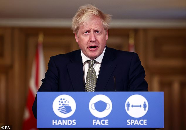 Prime Minister Boris Johnson was forced to announce a new lockdown for England earlier than planned after a leak of the plan to the media. England will enter lockdown on Thursday and is expected to emerge on December 2