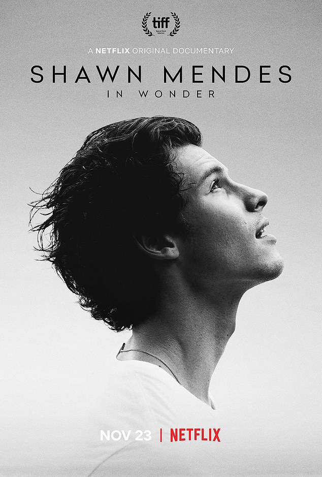 True story: The Canadian artist has also been promoting his Netflix documentary In Wonder, which premieres November 23 on the streaming platform
