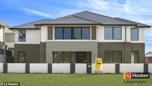 RetireesPeter and Sue Coles purchased a home (pictured above) by property development company Stockland in Leppington, western Sydney, in October 2018