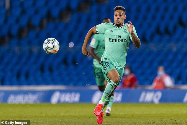 Mariano Diaz (pictured) is another first-team star who may be ousted this winter