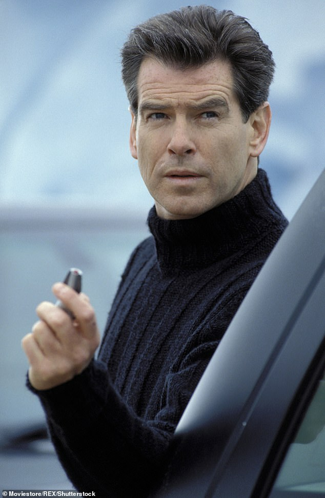 Sweet: Pierce revealed he was a fan of Sean's before taking on the role himself (pictured in Die Another Day in 2002)