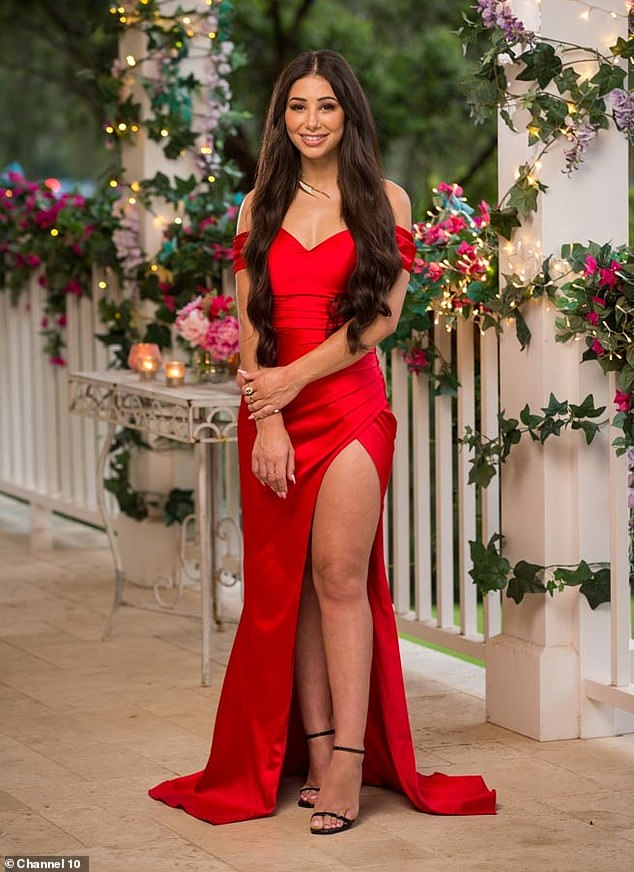 Ill-fated: Locklan 'Locky' Gilbert didn't see an immediate romantic connection with Nadine and sent her packing on the first night of The Bachelor. Pictured on The Bachelor