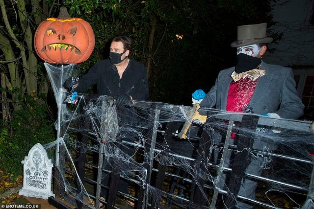 Event: Jonathan'sannual Halloween party has become famous for its extravagant dress code and star-studded guest list