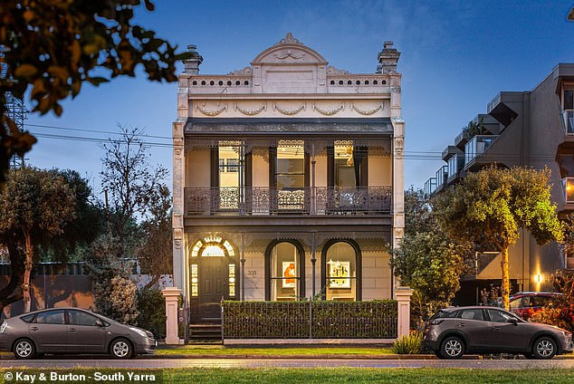 Cotton On Group co-owner Ash Hardwick is parting ways with his stunning Melbourne waterfront mansion
