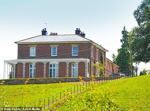 Mr Paterson spoke to the Mail Online from his Shropshire home where he said his wife Rose's desk has remained untouched next to his since her death