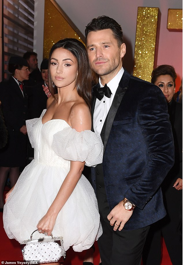 Glamourous couple actress Michelle Keegan and reality television star husband Mark Wright, pictured in January 2019, tied the knot in 2015