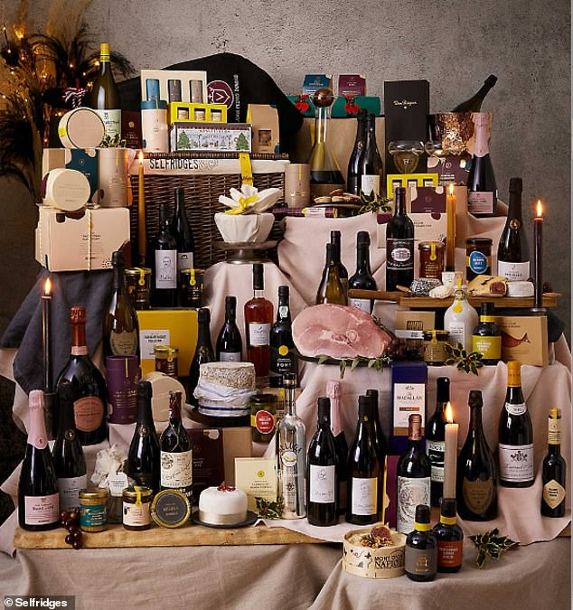 High end department store, Selfridges, has released a Christmas hamper for £5,000