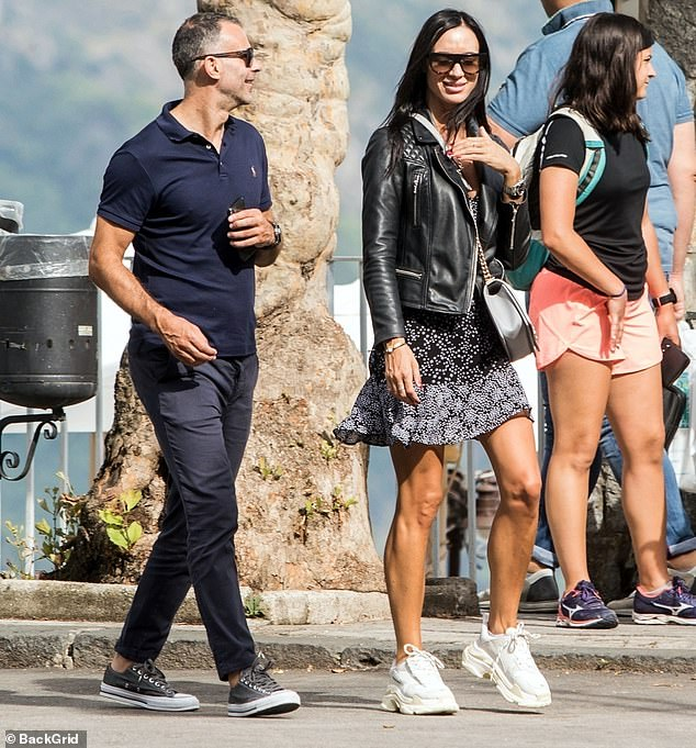 Ryan Giggs has been arrested on suspicion of assaulting his girlfriend Kate Greville (pictured together in 2018) at his £1.7million mansion