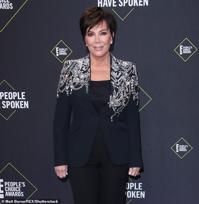 Emotional: Kris Jenner has opened up about watching the hologram video her late ex-husband Robert Kardashian that was gifted to Kim Kardashian by Kanye West for her 40th birthday
