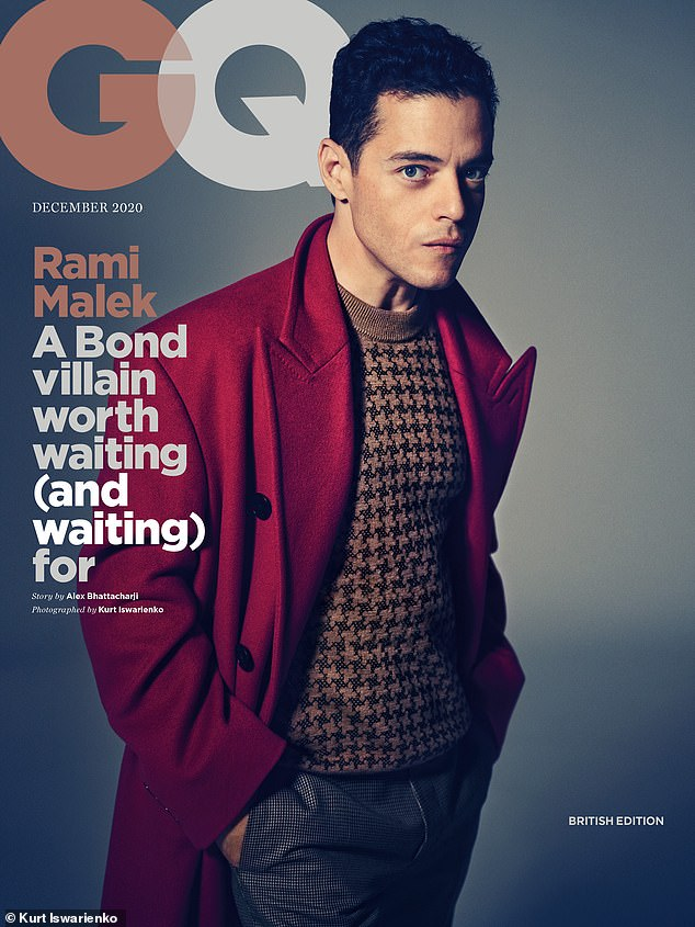 Honoured: Gracing the cover of GQ magazine , Rami told how he will look back on working alongside Daniel as one of the highlights of his acting career