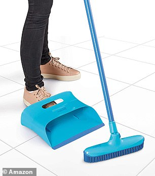 The indoor rubber broom is ultra efficient and hygienic