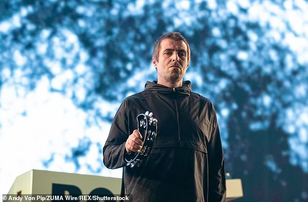 Criticism: Liam Gallagher has mocked his estranged sibling Noel, slamming his new music collaboration Not Over Yet with CamelPhat as 'horse****'