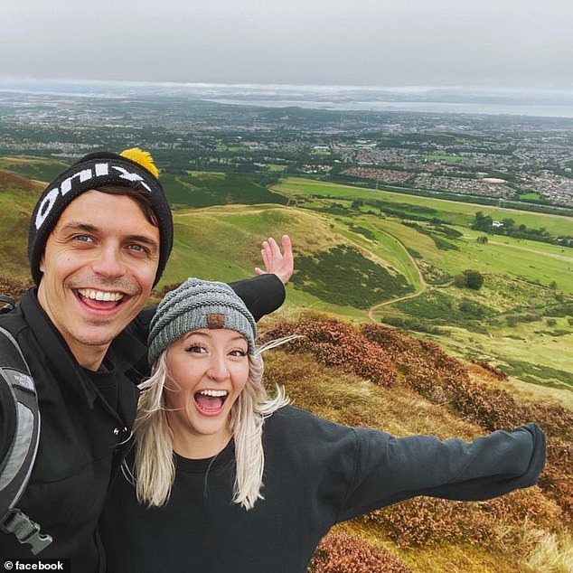 The couple bonded over their shared interests when they spoke over the phone and are planning to get married in London at some point